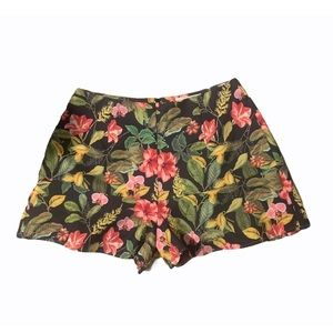 Shilla The Label Floral Shorts NWT